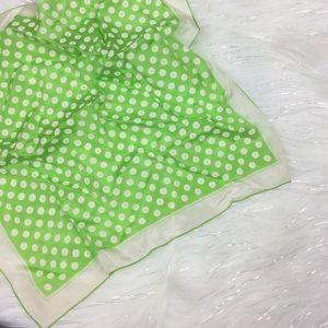 Vintage | polka dot scarf